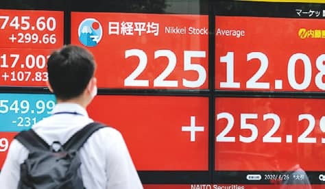 Asian Stocks Mostly Up After Wall St Rally, Eyes On Second Wave