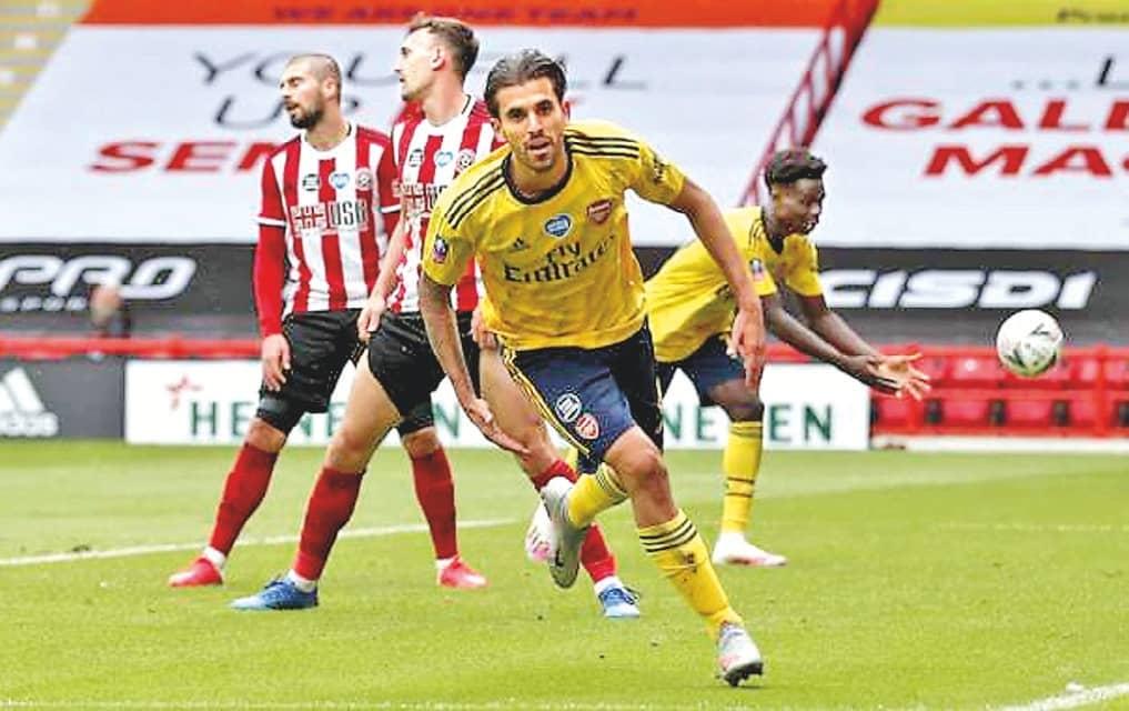 Arsenal Move Into FA Cup Semi-Finals