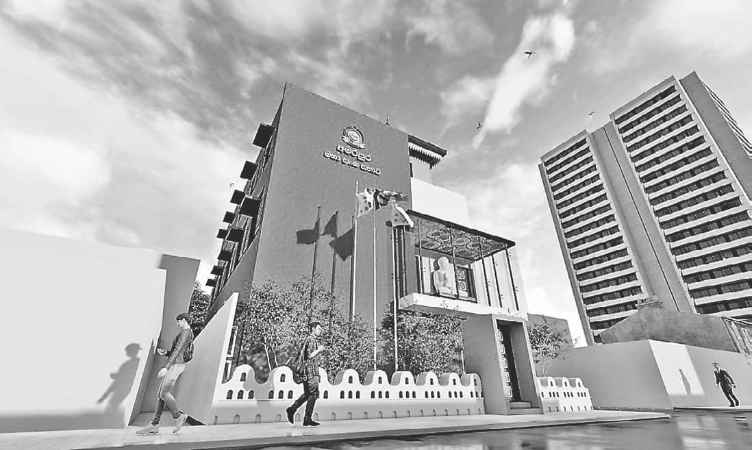 Opening of New Office Complex of the Amarapura Maha Nikaya Sangha Sabha