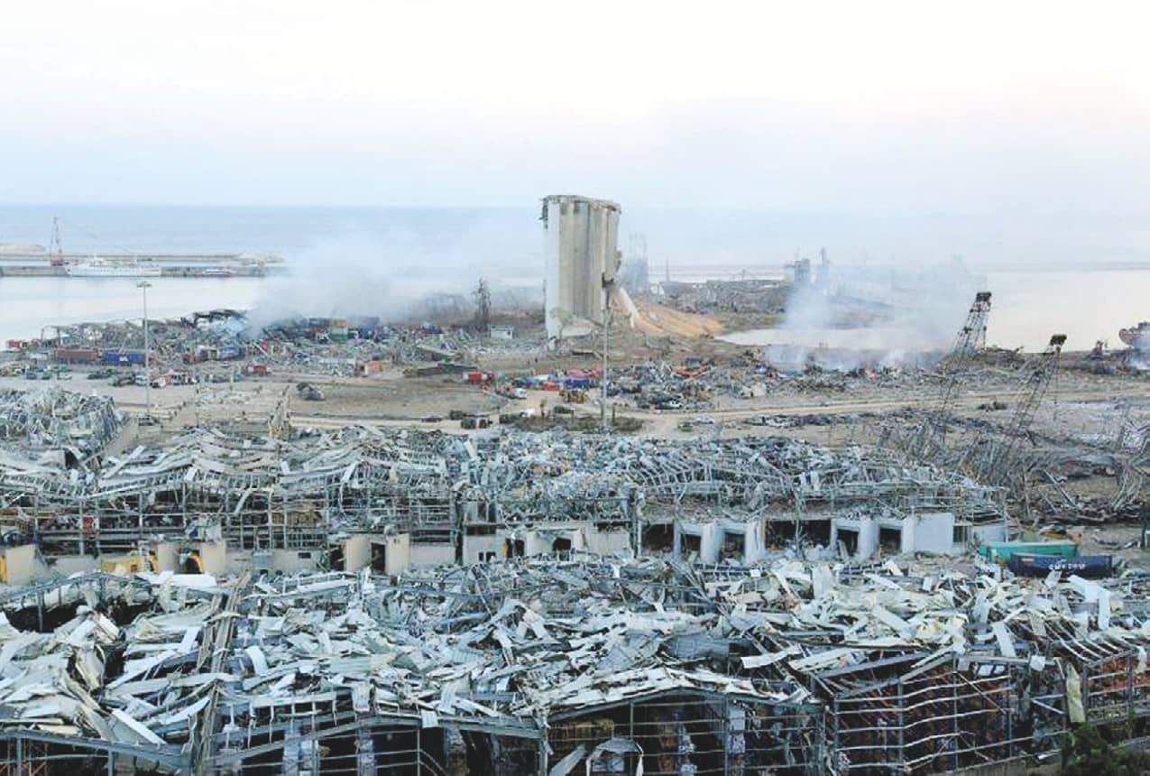 Beirut Explosion August 4, 2020 Explosions; Accidental And Man-made - 75, 100 Years Ago