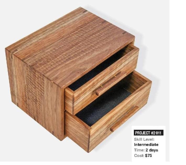 Textured Jewelry Box