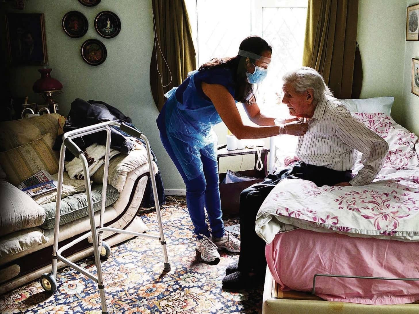 Care Home Families Hit With A £200 Monthly PPE 'Surcharge'