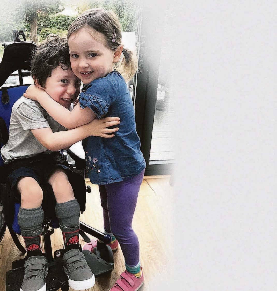 Eva, 3, In Marathon Bid To Help Twin Walk