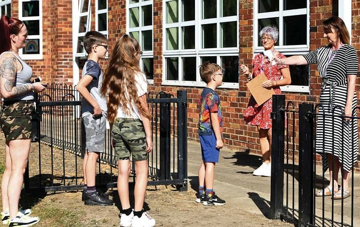 Schools Test The Temperature As 2m Pupils Return
