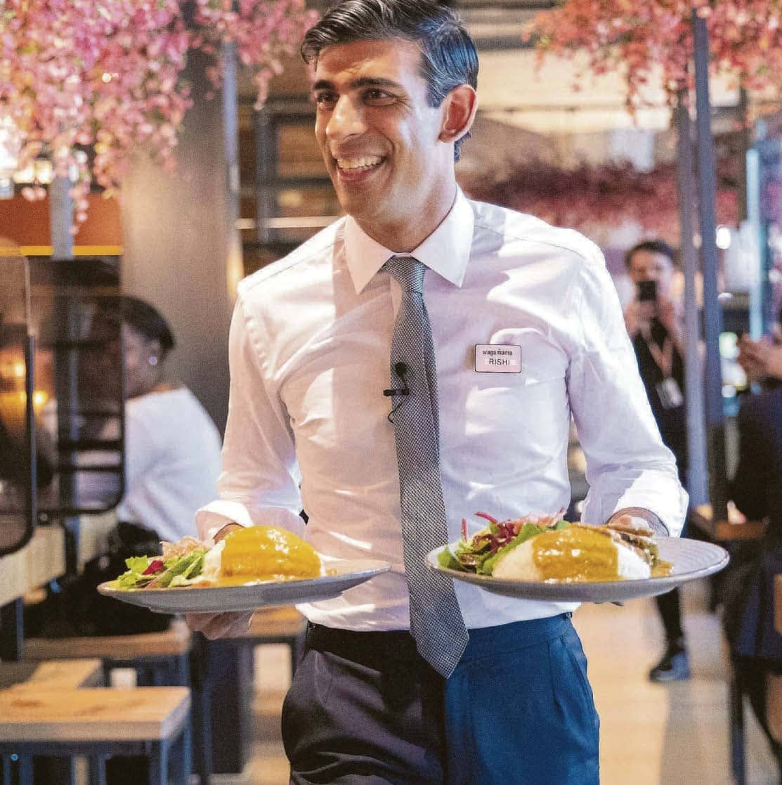 Rishi's Meal Deal To Rescue 1.8m Jobs ...With The Treasury Throwing In A Tenner