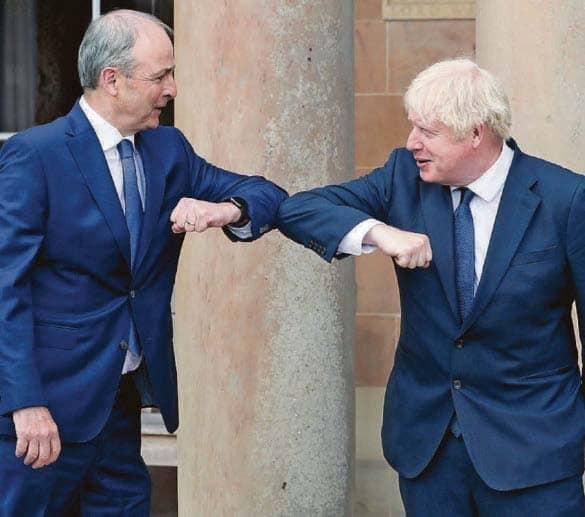 Boris and Irish leader confident of sealing a pact