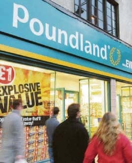 Poundland TO YOUR FRONT DOOR