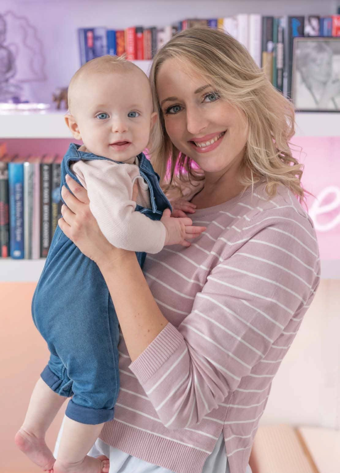 'Motherhood's exhausting but I'd love another baby'