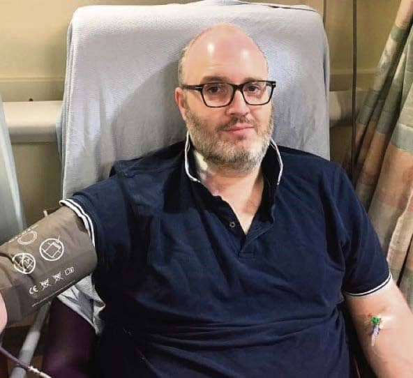 Last thing I expected at 38 was bowel cancer
