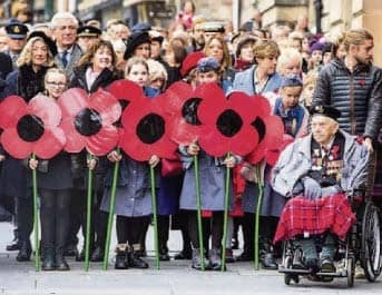 Remembrance marked at home in 100-year first