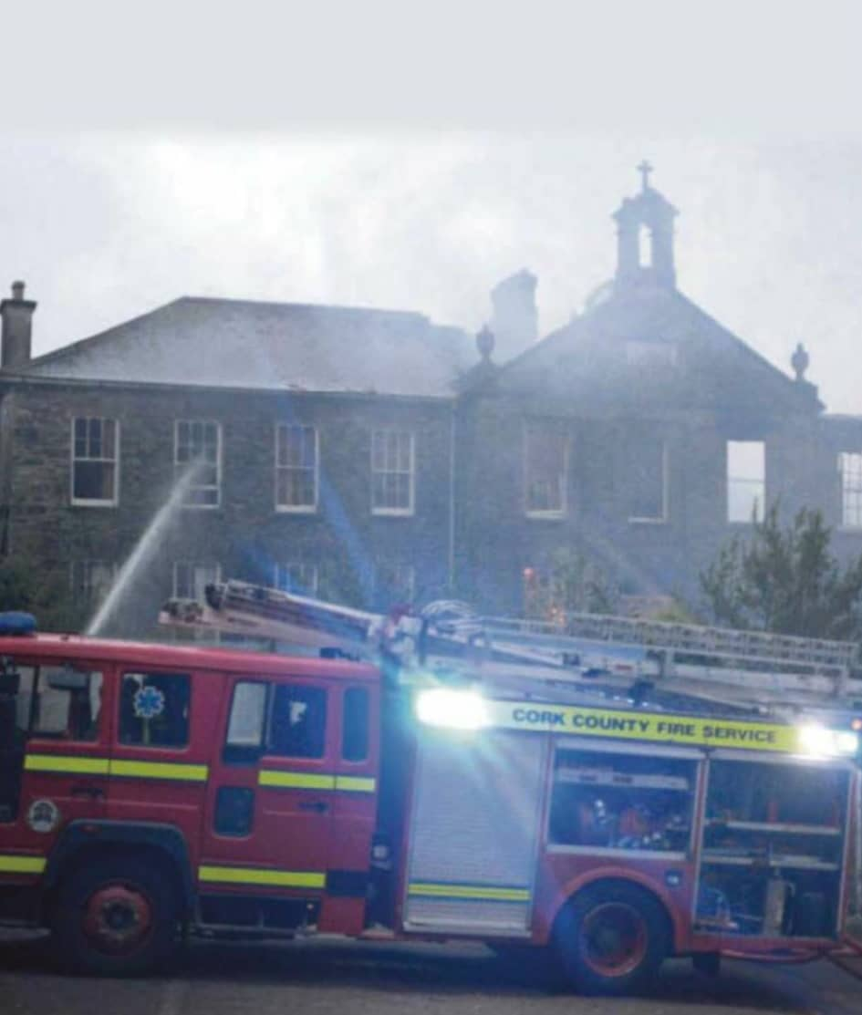 Crews Fight Blaze At Former Convent