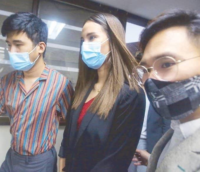 Catriona Gray seeks NBIs help to track uploader of fake