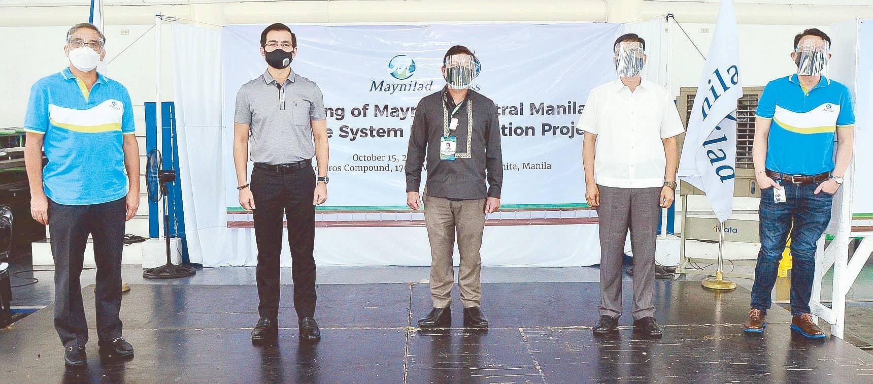 Maynilad Starts Manila Sewerage Rehab Project