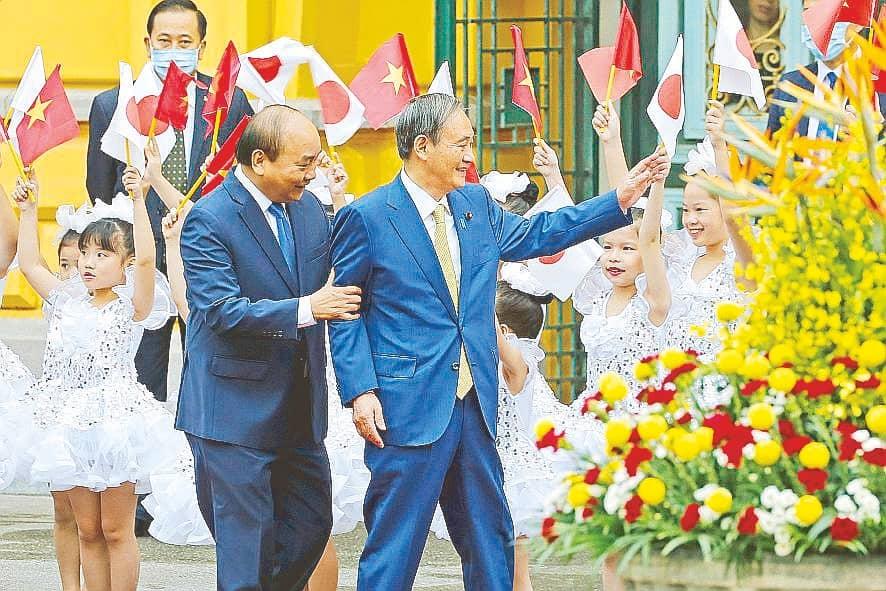 Japan, Vietnam agree to boost defense, economic, energy ties
