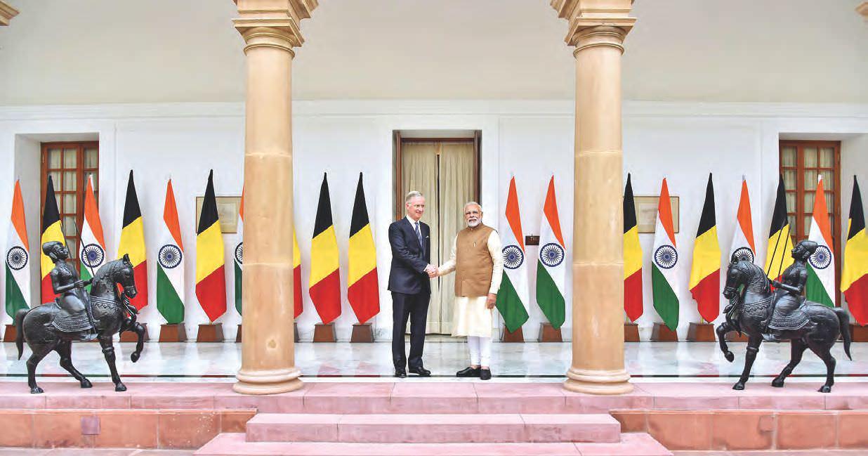 GJEPC Welcomes King Philippe Of Belgium