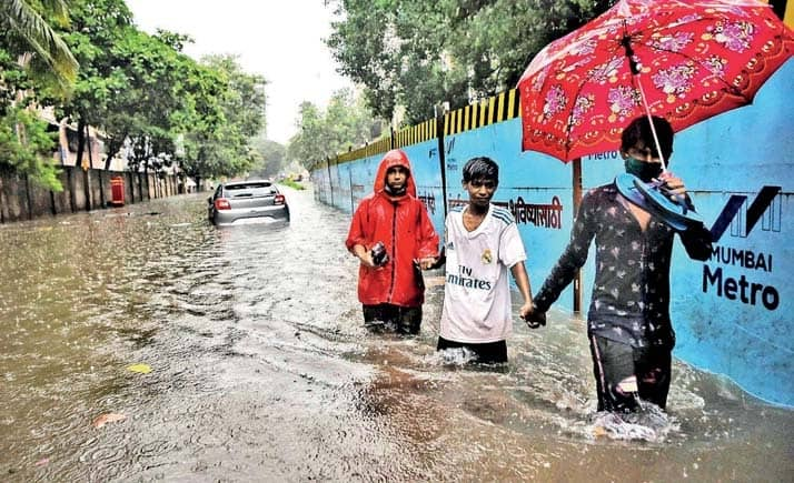 Heavy Rain Throws Mumbai Out Of Gear, Yellow Alert For Today