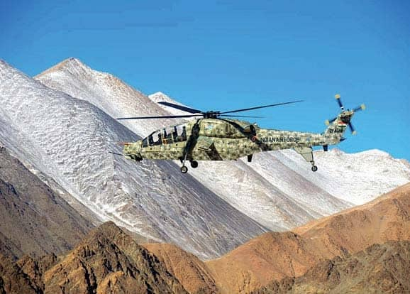 'Atmanirbhar' India Tests Own Combat Helicopters In Ladakh