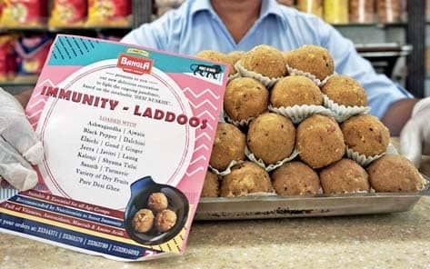 Dessert Storm: These 'Immunity Laddoos' Are Selling Like Hot Cakes
