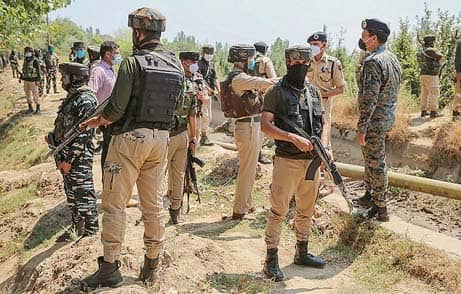 4 Security Personnel, 3 LeT Terrorists Killed In J&K Attack
