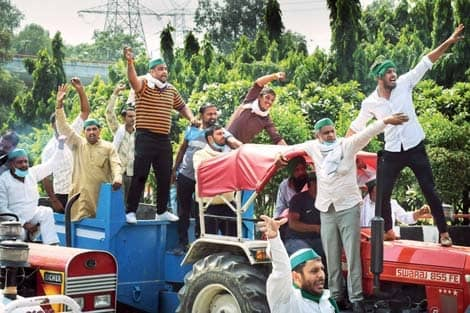 Farmer protests swell in Haryana, west UP stir reaches Delhi borders