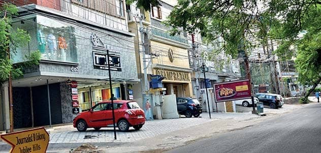 Residents Demand Removal Of Shops From Jubilee Hills Areas