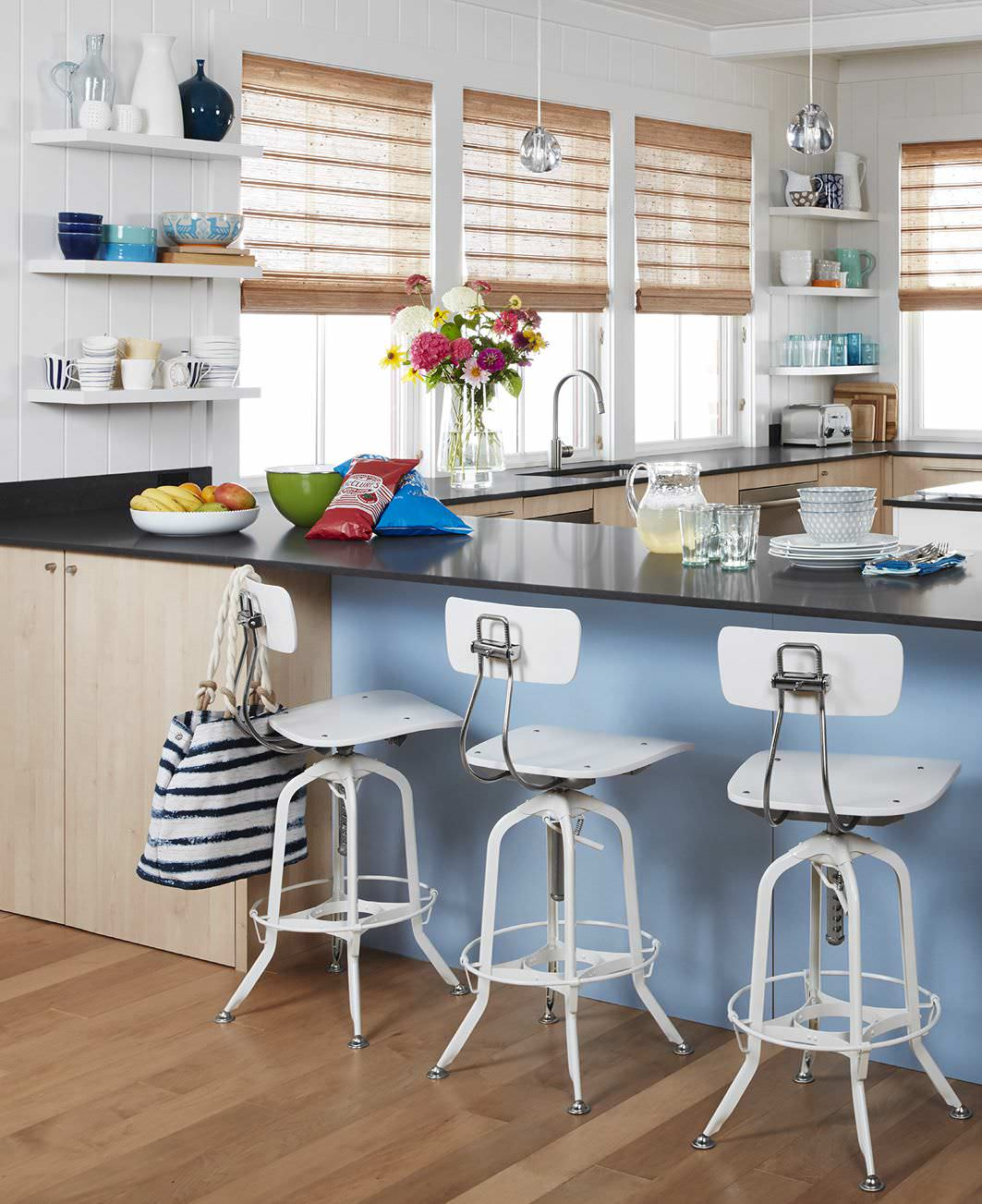 The Not-too-colorful - Colorful Kitchen