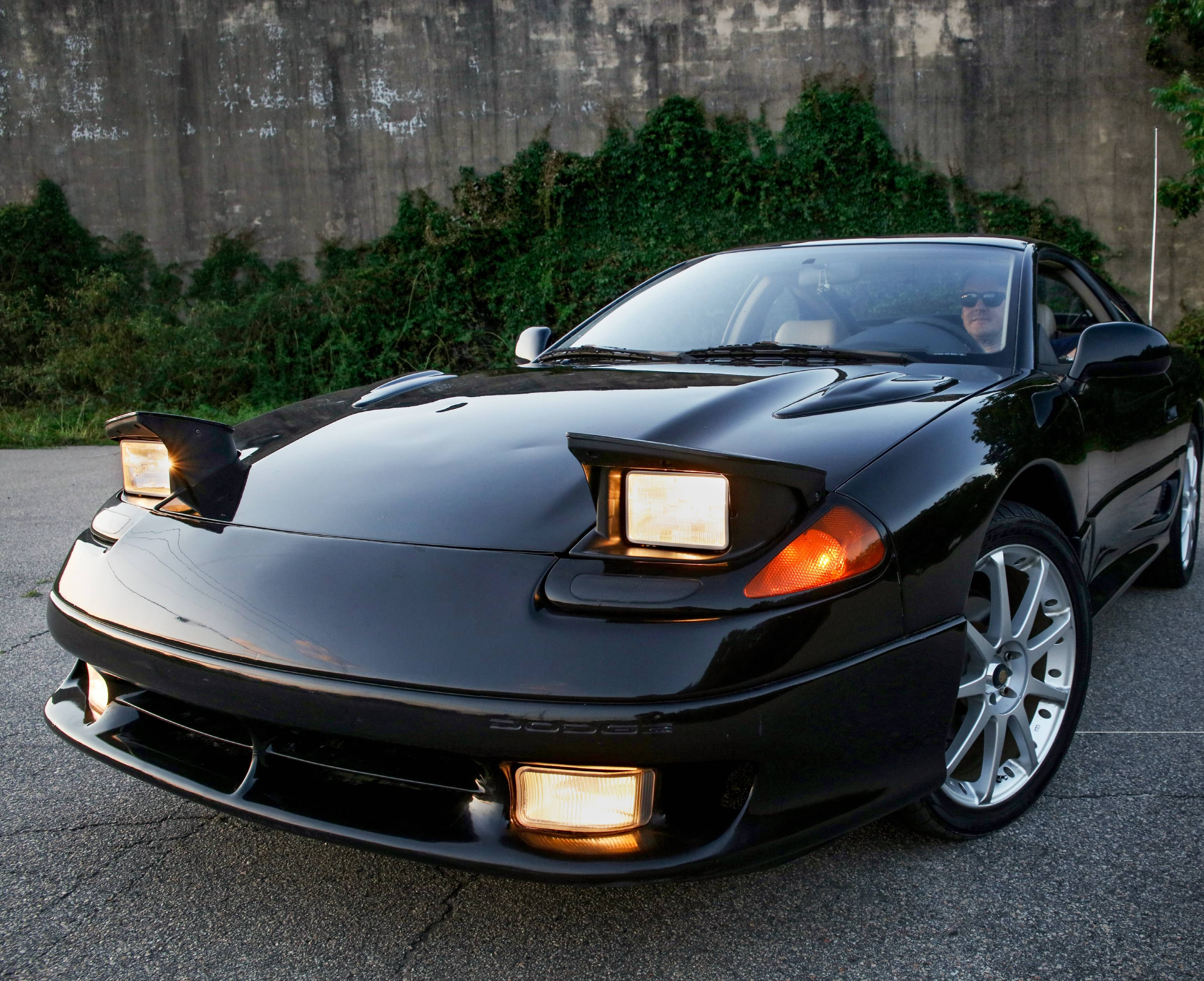 The Dodge Stealth Is Power, Tech, And Pop-up Headlights