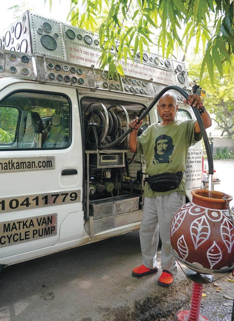 Delhi's Water Man