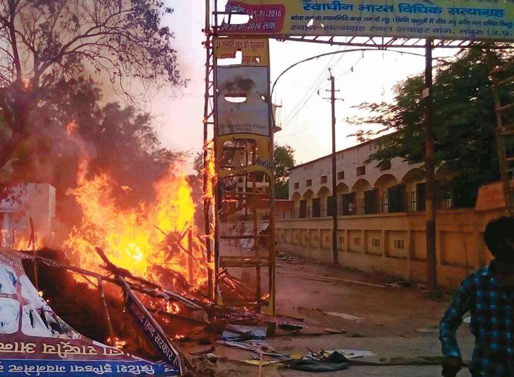 'Netaji' Didn't Start This Fire