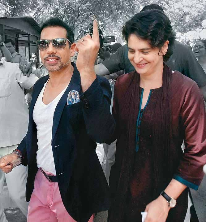 In Search of Vadra's Crime