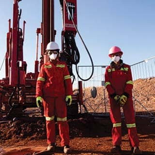 Women step out of the shadows on Kumba exploration project