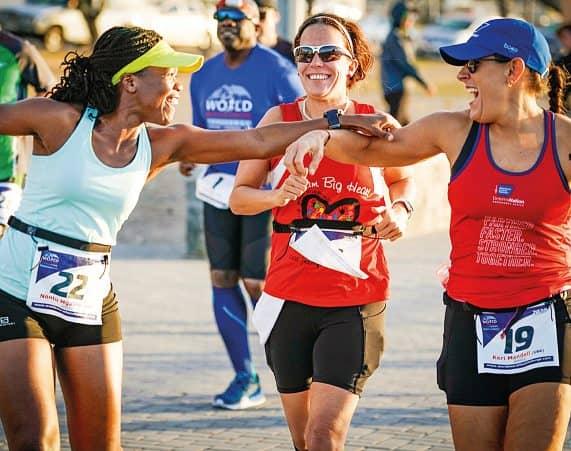 Marathons Continents Days
