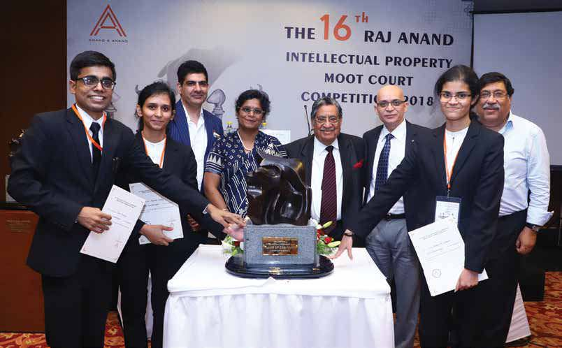 The 16th Raj Anand Moot Court Competition, 2018