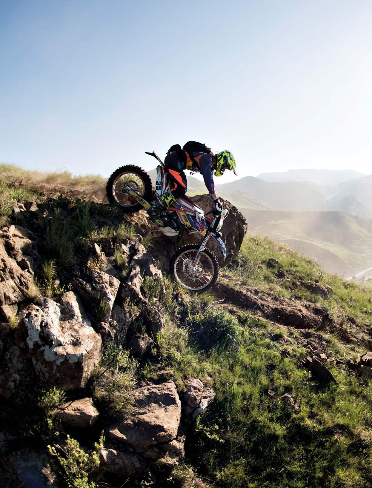 YOU CAN DO THIS . . .  Motorbike Enduro Riding
