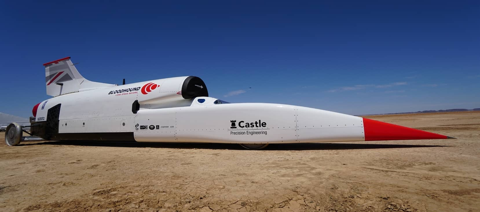 Bloodhound LSR Team Lands In Desert And Gears Up For High Speed Runs