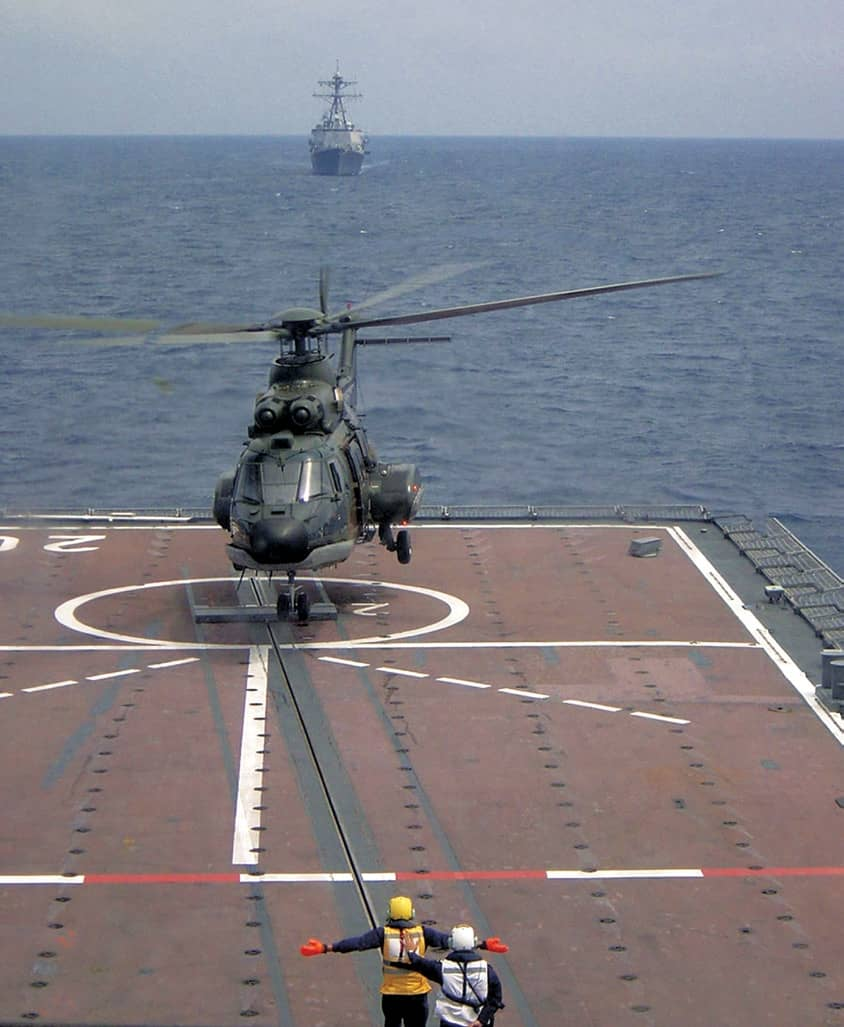 Helicopter Traversing Systems