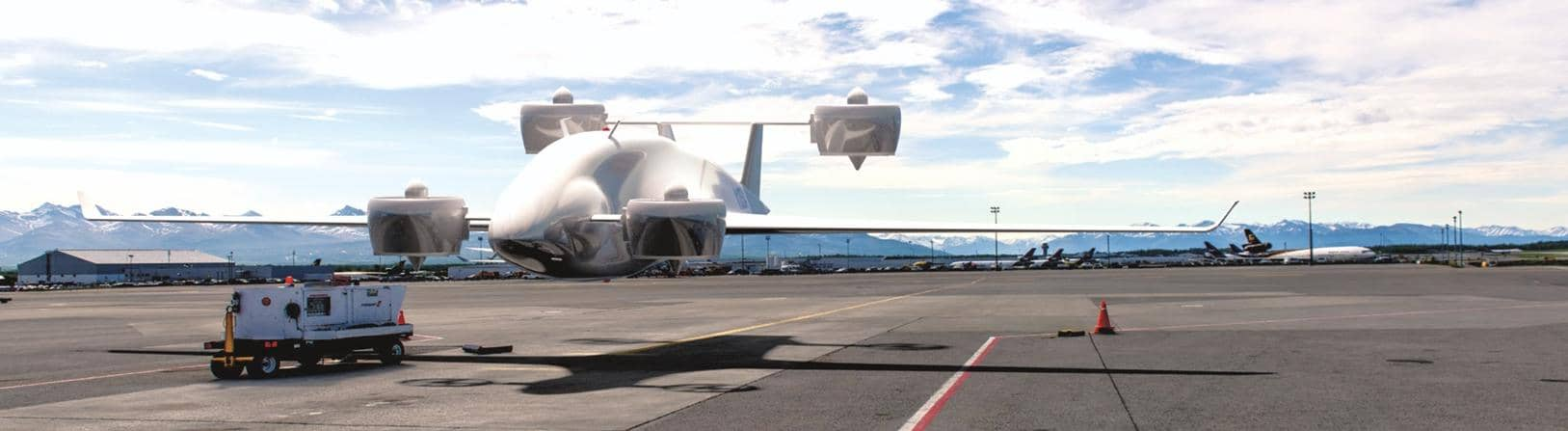 Sabrewing Unveils Prototype 'Rhaegal-A' Air Cargo Like No Other