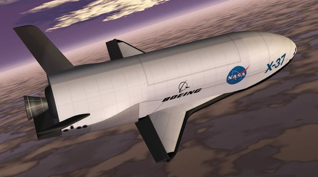 The mysterious Boeing X-37B
