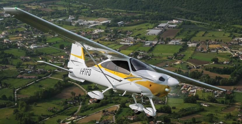 Meet New Player On General Aviation Arena: Tecnam P2010TDI