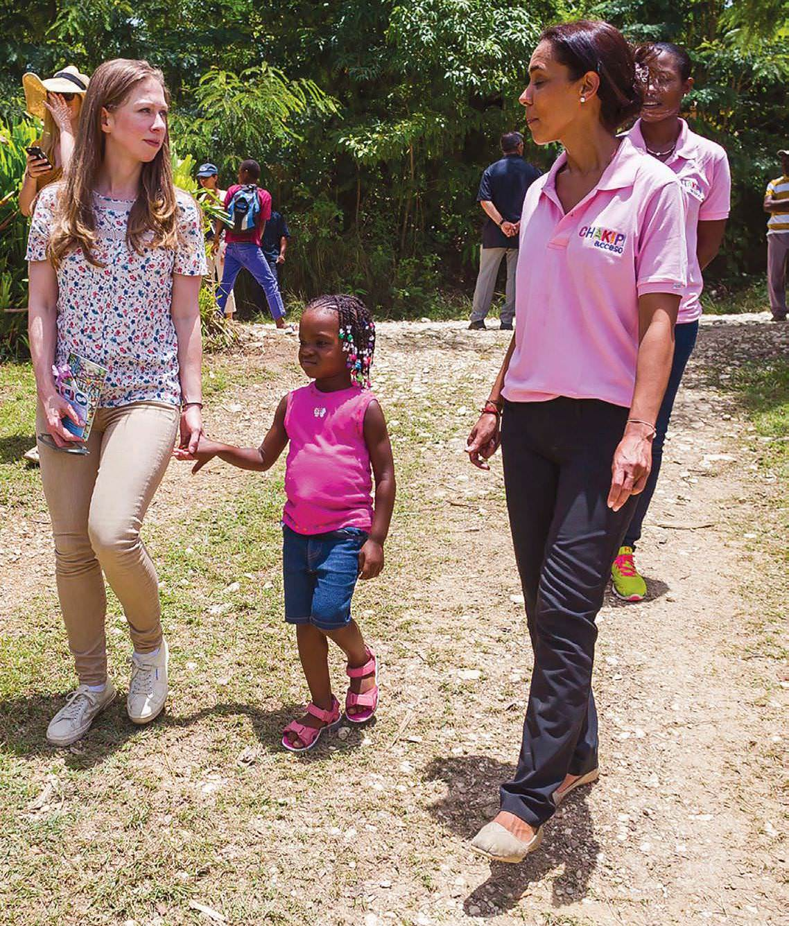 Chelsea Clinton On How To Make A Difference