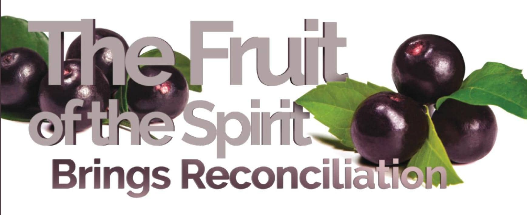 The Fruit of the Spirit Brings Reconciliation