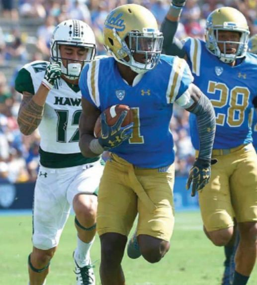 ROUND FOUR Darnay Holmes • CB • UCLA