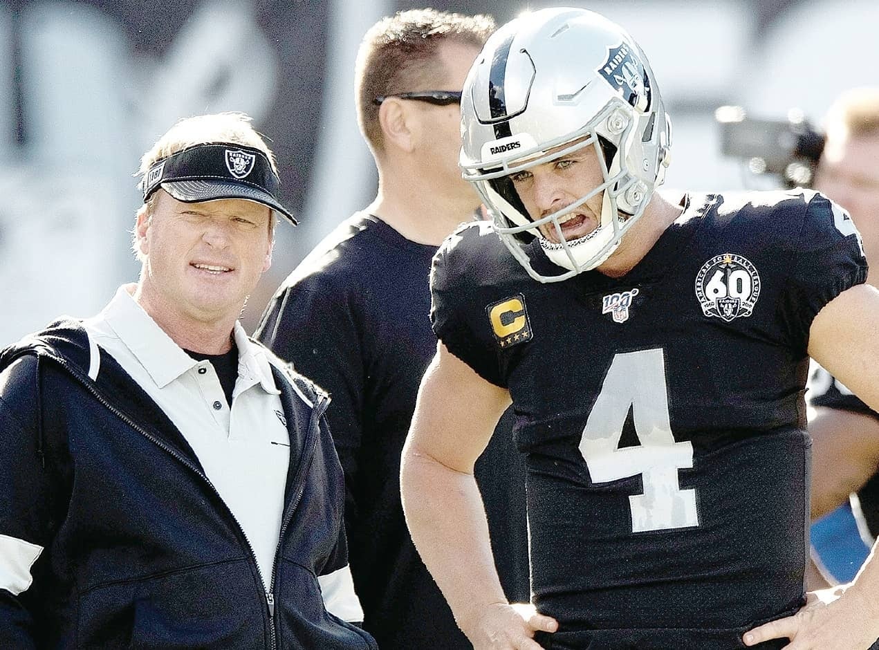 Carr's future in question