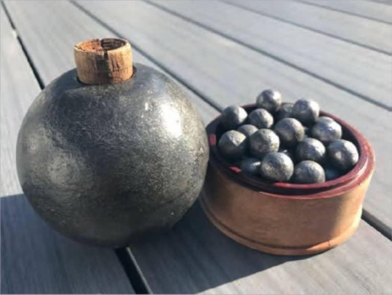 Restoring Six Pounds of Spherical Shrapnel