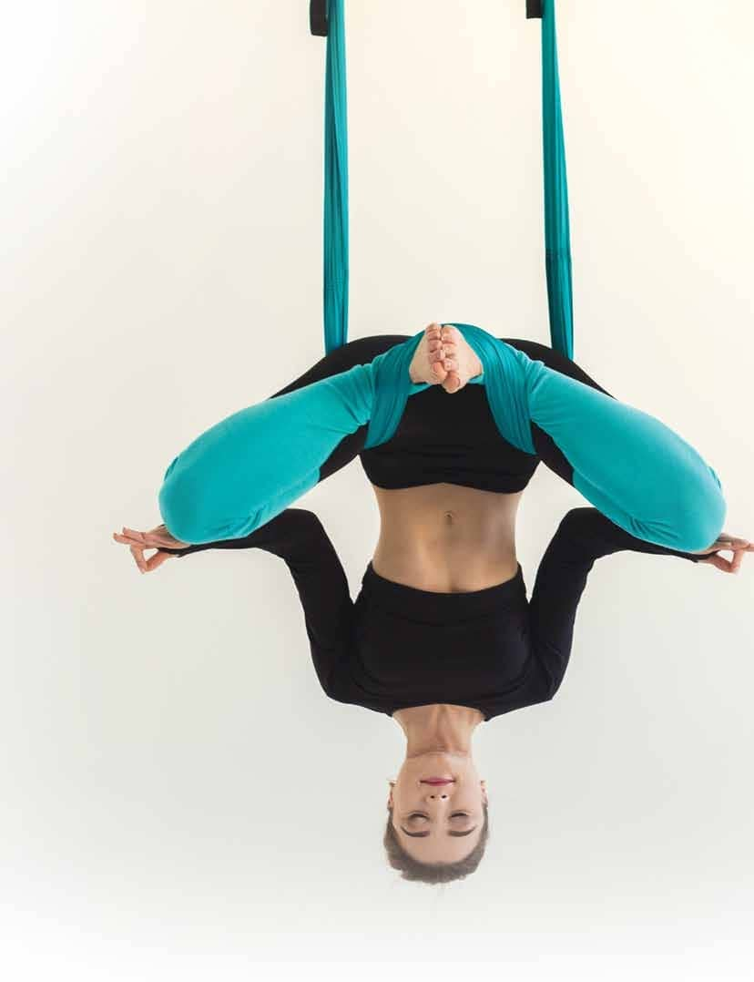 Need A Next Level Workout? Try Aerial Yoga