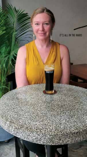 Crafters Taphouse tap International Brewer Allison Higi's expertise