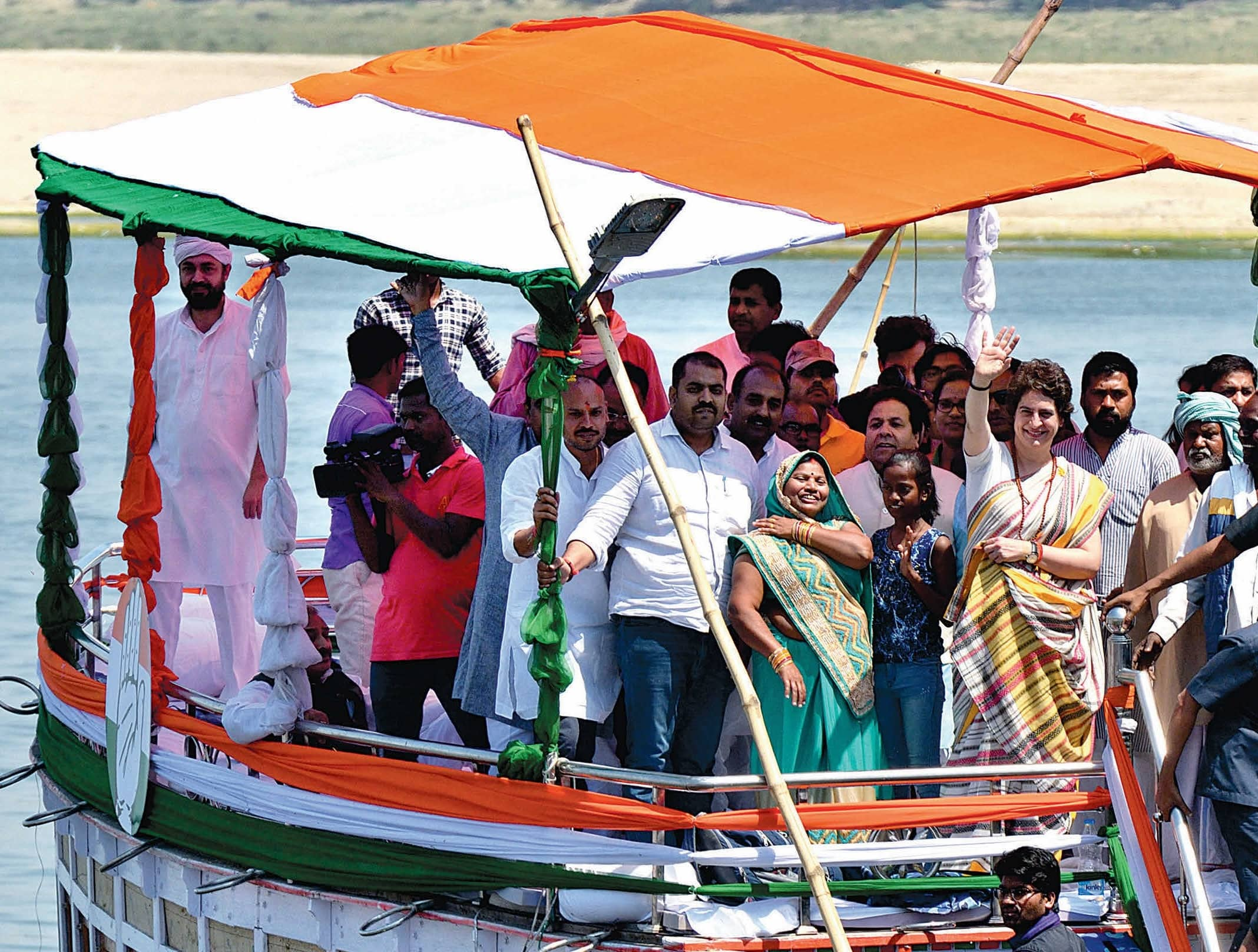 Priyanka Gandhi's Ganga Yatra To Revive The Congress In Uttar Pradesh