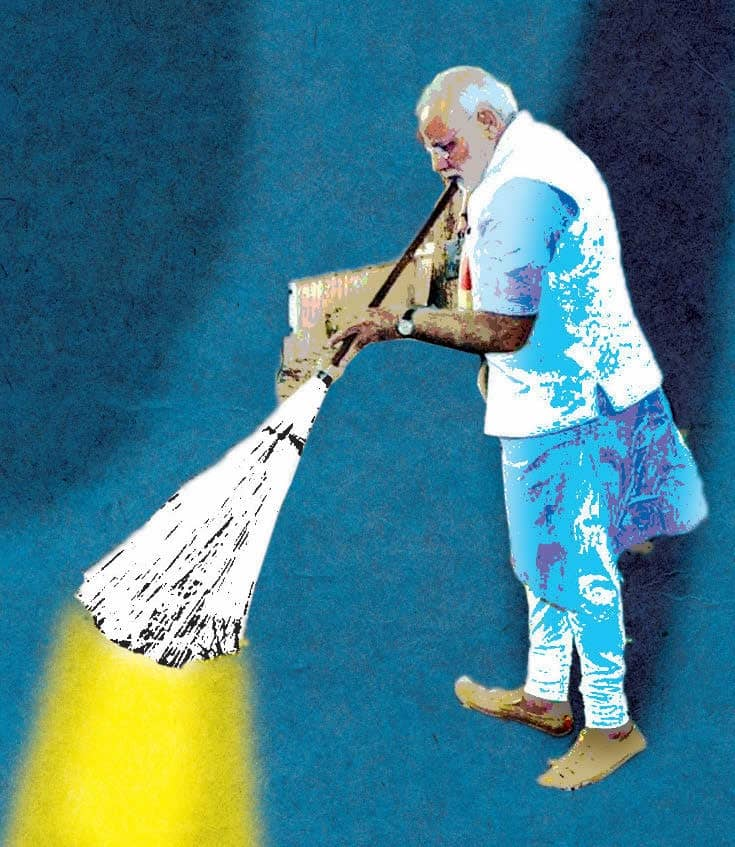 Modi's Tribute To The Mahatma