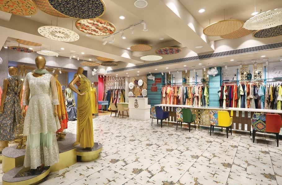 Saloni A Spatial Royal Tribute To Immersive Shopping
