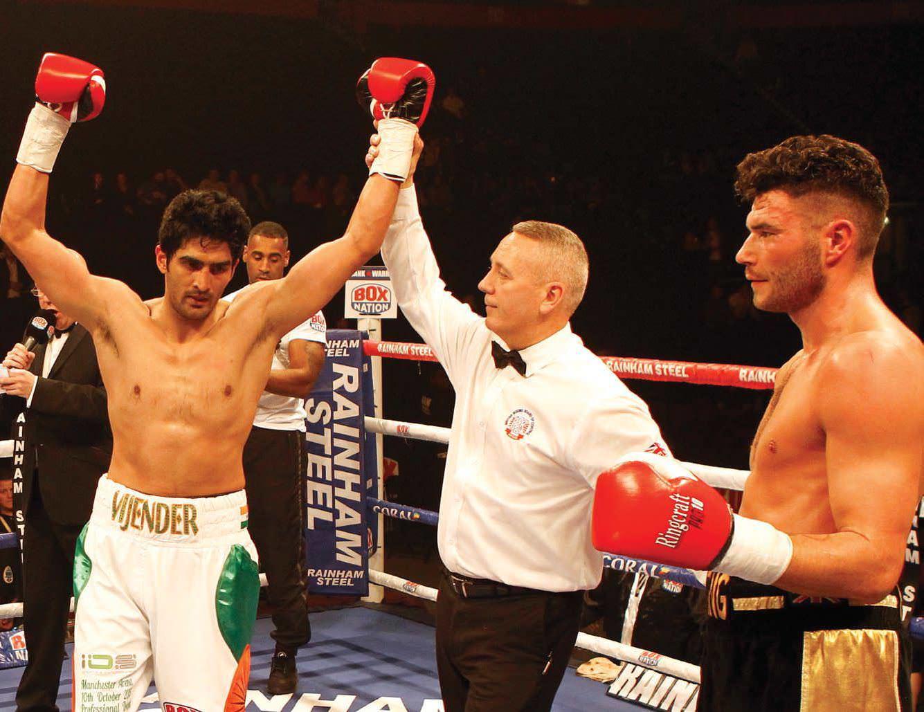 Smashing Debut Of Virendra Singh